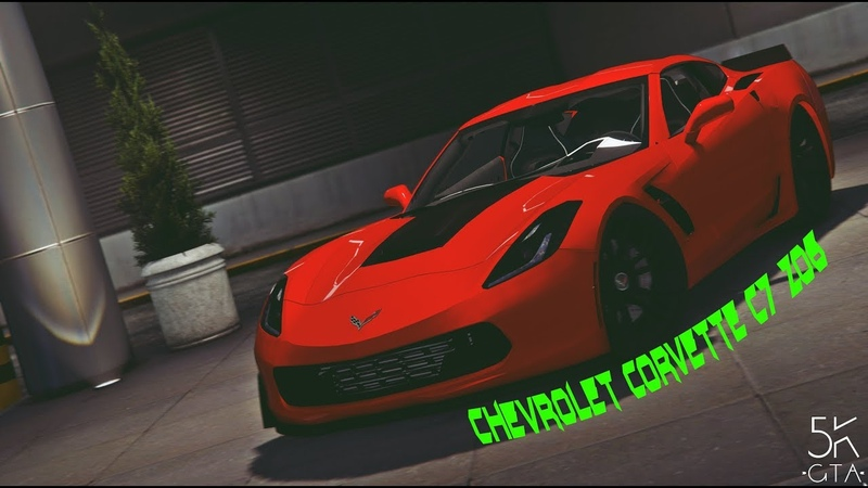 GTA 5 |Обзор и Тест-Драйв Автомобиля Chevrolet Corvette C7 Z06