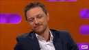 James McAvoy about meeting his crush-on-time Penelope Cruz | Graham Norton Show (Jan 2019)