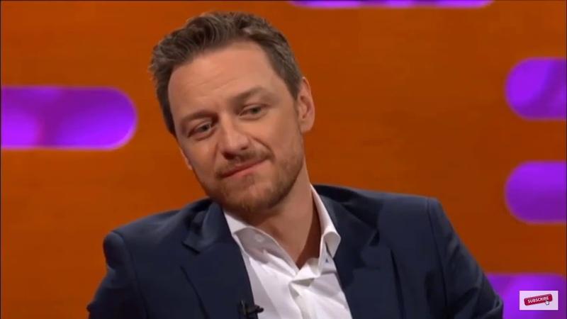 James McAvoy about meeting his crush on time Penelope Cruz Graham Norton Show Jan 2019