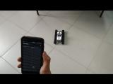 Управление роботом с помощью гироскопа смартфона