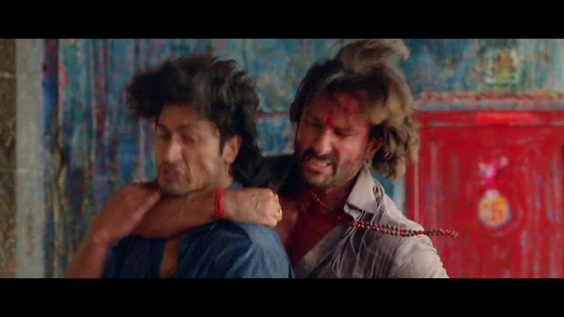 Raja vs Vidut - Fight Scene - Bullett Raja (2013) Fight Scene - Saif Ali Khan, Ravi Kishan