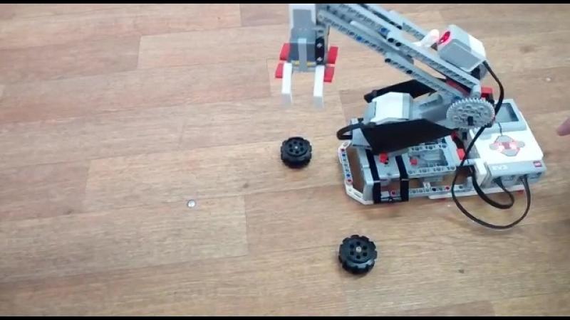 Lego Mindstorms EV3 (кран)