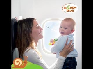 Как пережить перелет с ребенком?