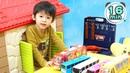 Rain Rain Go Away   More Nursery Rhymes Kids Songs Compilation 16 minutes - Xavi ABCkids