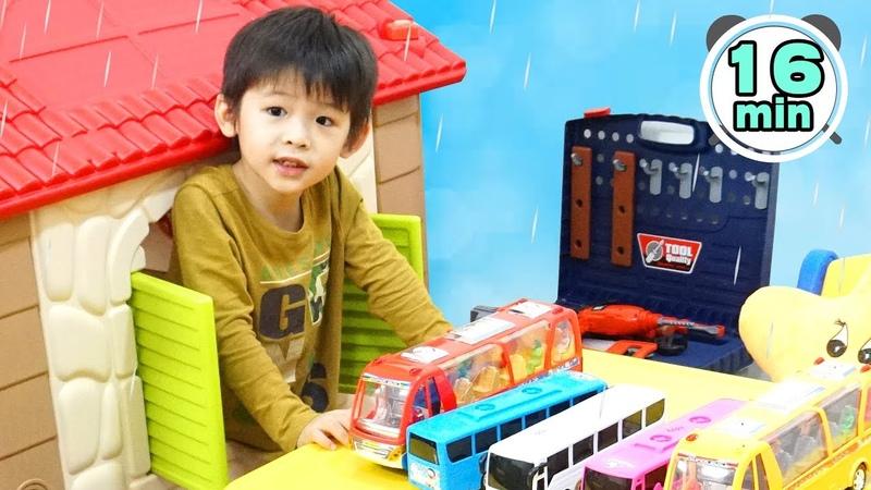 Rain Rain Go Away More Nursery Rhymes Kids Songs Compilation 16 minutes Xavi ABCkids