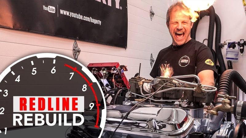 Pontiac GTO Tri-Power 389 V-8 Engine Rebuild Time-lapse - Redline Rebuild S2E4