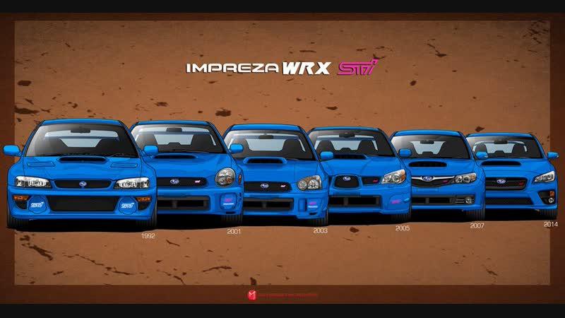 Shere.Khan - Subaru Impreza WRX STI Легенда