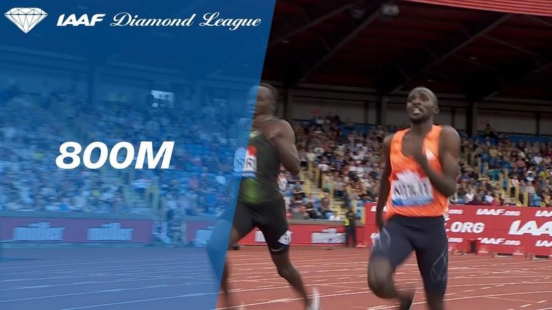 Эммануэль Корер 1.42.79 Мужчины 800m - Diamond League Birmingham 2018