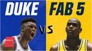 Duke freshmen vs. Fab Five: How Zion Williamson's squad compares on & off court | College Basketball