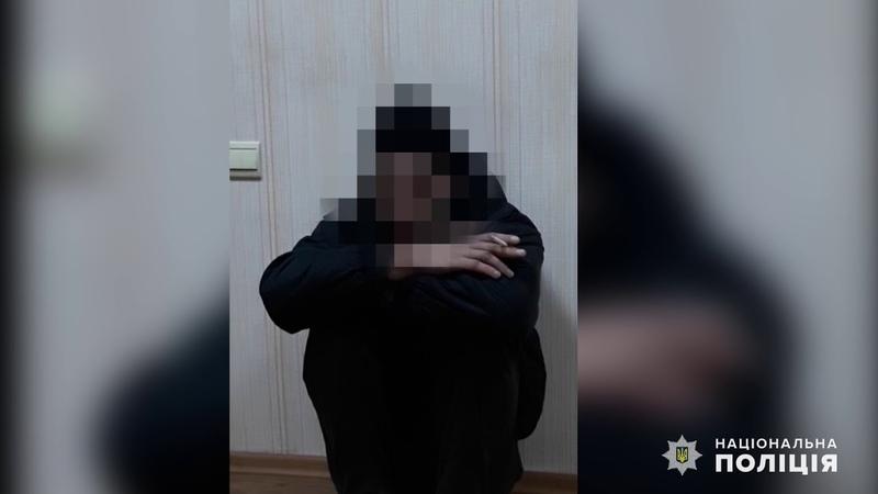 За зґвалтування жінки поліцейські оперативно затримали раніше судимого місцевого мешканця