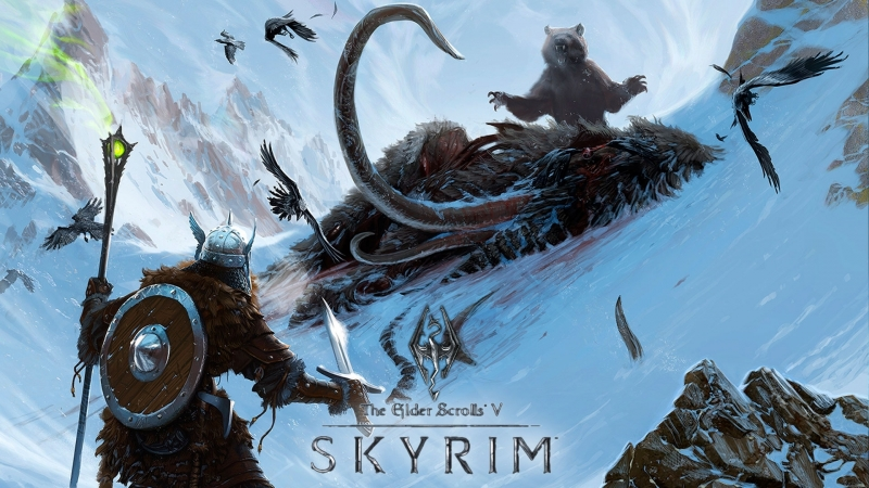 ►СТРИМ ► Skyrim► 4 Ебобо Дракон ◄