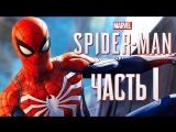 Дмитрий Бэйл Прохождение Spider-Man PS4 [2018] — Часть 1 НОВЫЙ ЧЕЛОВЕК-ПАУК!