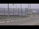 Гидропосев Чистые экраны шумки и грязные на эстакаде ШГС Керчь