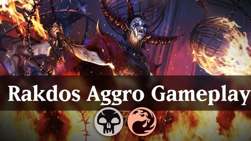 Rakdos Aggro Gameplay | RNA Standard Deck Guide [MTG]