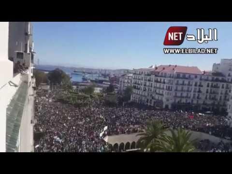 أعداد قياسية من المتظاهرين بساحة البريد ا 160
