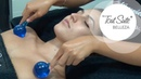 Masaje facial desintoxicante con esferas de cristal Detox facial massage