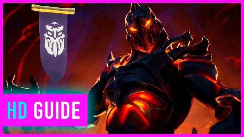 Fortnite Season 8 Week 8 Discovery Challenge Secret Hidden Banner Location Guide