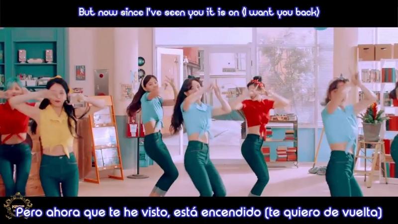 TWICE - I want you back - (Sub Español | Hangul | Roma)
