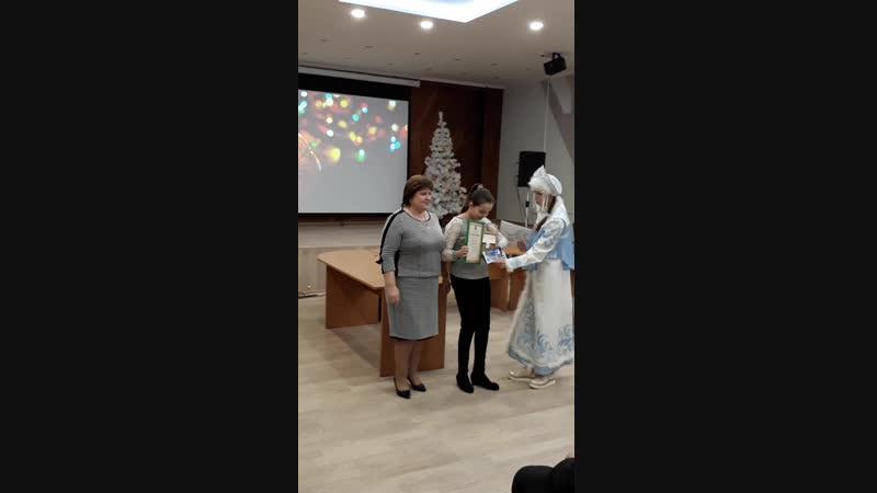 Аносова Елизавета -1 место. Поздравляем!