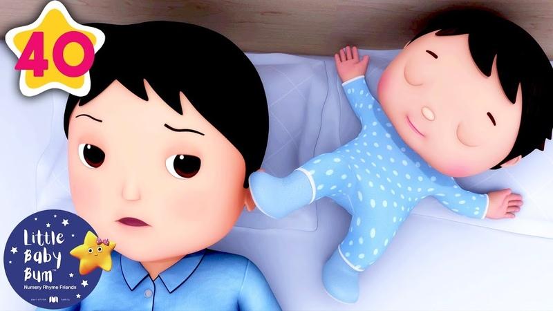 Rock-a-Bye Baby V2 | More Nursery Rhymes Kids Songs | Little Baby Bum