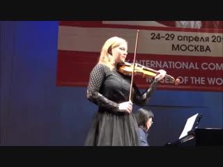 Семенина Софья - (И. Фролов) Концертная фантазия на темы из оперы Дж. Гершвина