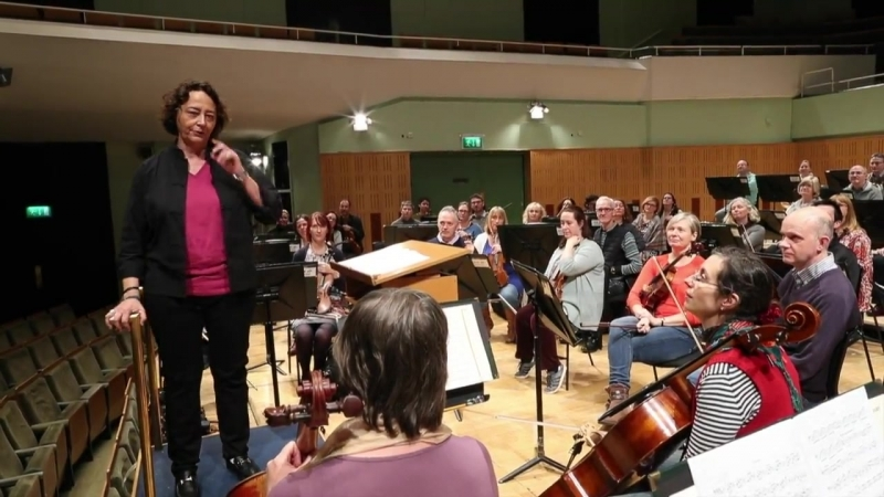 A little message from Nathalie following her appointment as Principal Guest Conductor of RTÉ National Symphony Orchestra of Irel