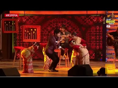 Papon's performance with Bihu dancers at Royal Stag Mirchi Music Awards | RSMMA