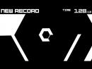 Super Hexagon, 3 уровень с переходом в 6. Пройдено и записано.