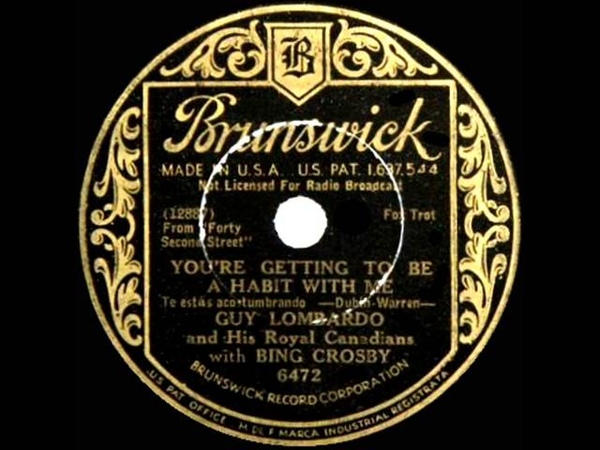 Guy Lombardo - You're Getting To Be A Habit With Me
