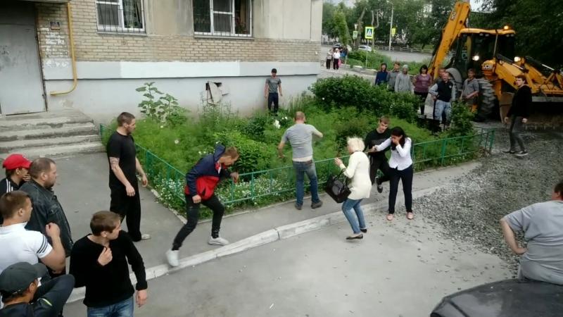 Челябинский беспредел от застройщиков Высотник Электрошокер