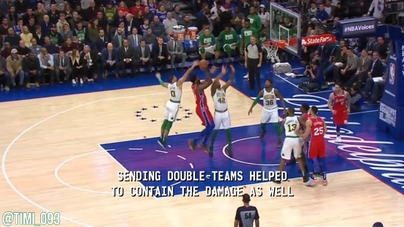 How Al Horford and the Celtics stopped Joel Embiid