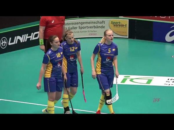 Highlights: Women's U19 WFC 2018 - Germany vs. Sweden