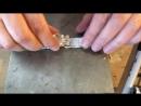 Серебряный браслет с кабошоном Видеоурок Пайка 13 14