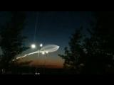 Над Нижним Новгородом ракета Союз-2.1б со спутником Глонасс-5