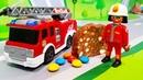 Мультики про машинки. Цветная пожарная машинка в мультике - Шоколад и конфеты. Мультфильмы 2017