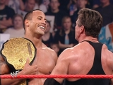 WWF Raw is War 3rd Decemcer 2001 - Vince McMahon &amp Kurt Angle vs The Rock &amp Trish Stratus