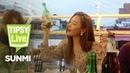 Sunmi Is Still Cute When She's Drunk Tipsy Live ENG SUB dingo kdrama