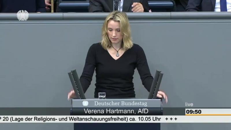 """Verena Hartmann - """"Sie sind zu feige, für Ihr eigenes Land und seine Menschen einzustehen"""""""