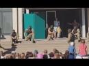 Украина: Детский праздник в день защиты детей, сценка как перерезать горло...