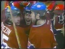 Andrei Markov first career playoff goal vs Hurricanes in game 2 (2002)