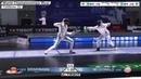 2018 242 T32 04 M E Individual Wuxi World Championships BLUE BRINKMANN GER vs MCDOWALD USA