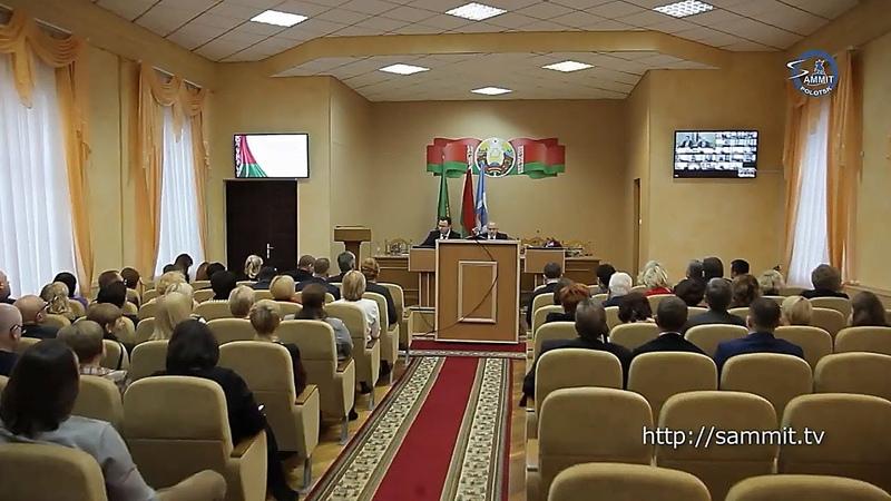 «СаммитТВ» В Полоцке прошла областная коллегия по здравоохранению