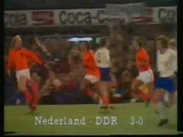 Fußball-EM 1980 Qualifikation: Niederlande - DDR 3:0