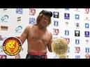 Chris Jericho Tetsuya Naito Post-match Interview
