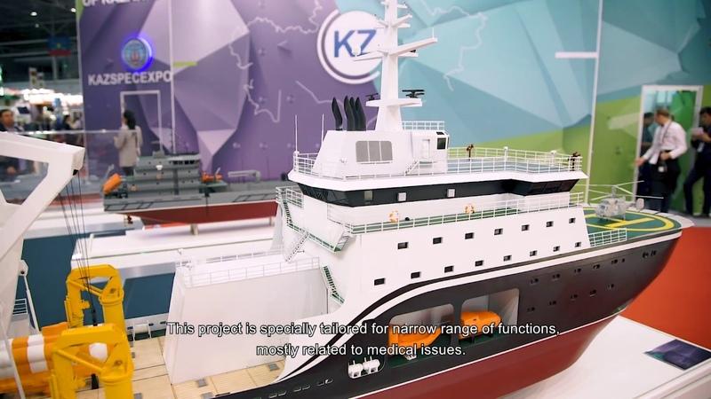 Pella Shipyard's Rescuer and Small Sea Tanker at Army 2018 Forum