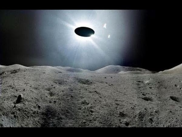 НЛО вылетает из кратера ЛУНЫ 👌 там есть ЖИЗНЬ