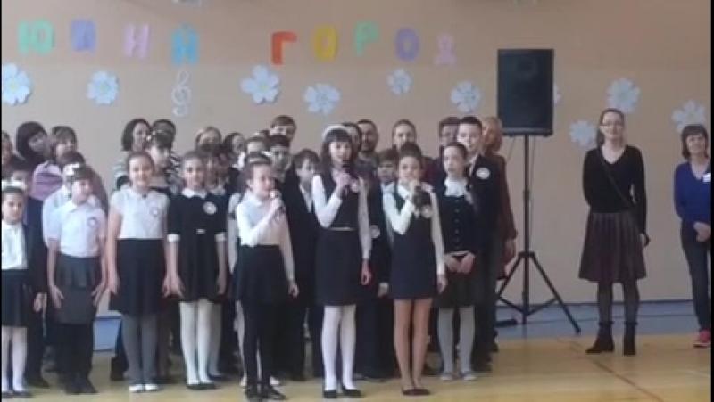 Битва хоров 5Г 18.03.2018