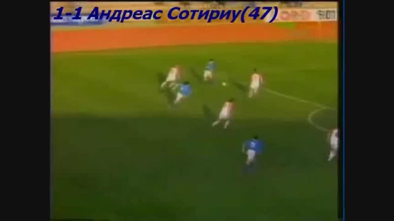 24.03.1993. Кипр - Чехия и Словакия