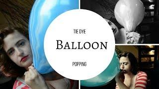 Tie Dye Balloon Popping