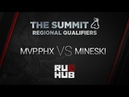 Mvp PH vs Mineski The Summit4, SEA Quals, Game 3